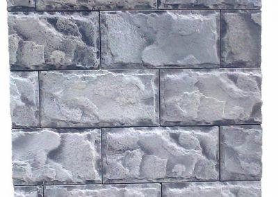 Дялан камък сивочерен