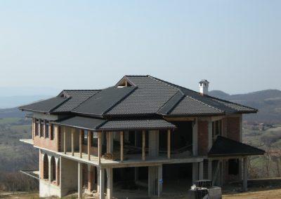 Покрив с керемиди Онда