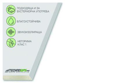 White board – екстериорна плоскост тип GM- FH1-IR