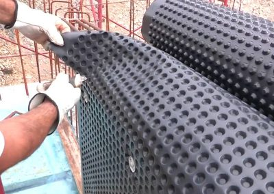 Монтаж на хидроизолация