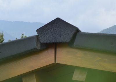 Покривна система - начален/краен капак Плано