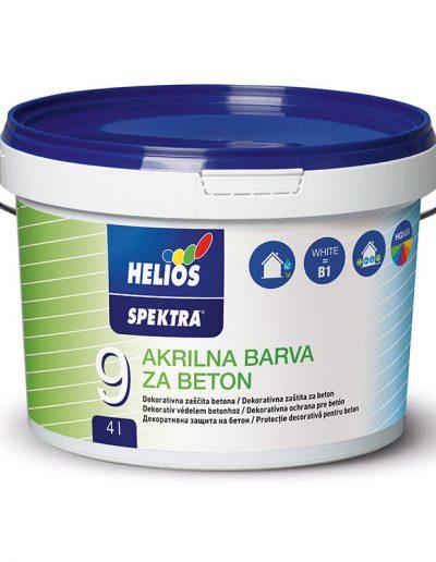 Helios - SPEKTRA акрилна боя за бетон