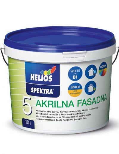Helios - SPEKTRA - Акрилна фасадна боя