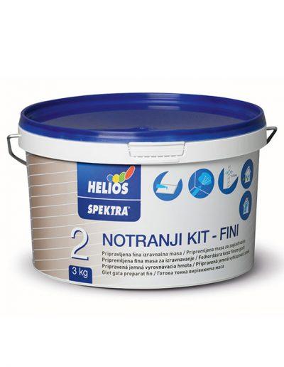 Helios - SPEKTRA вътрешна шпакловка, фина, 3 кг