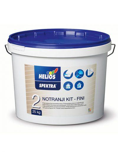 Helios - SPEKTRA вътрешна шпакловка, фина, 25 кг