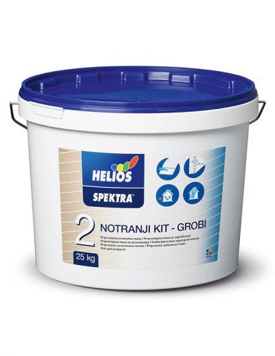 Helios - SPEKTRA вътрешна шпакловка, груба, 25 кг