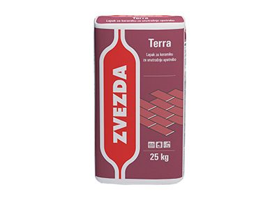 Zvezda TERRA - лепило за керамика за вътрешна употреба