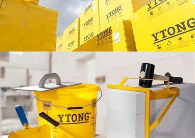 YTONG - блокчета и специални инструменти