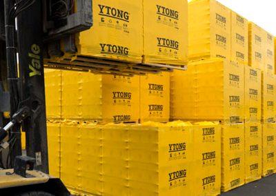 YTONG на склад