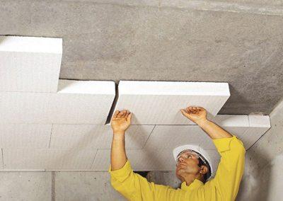Монтаж на YTONG на тавана