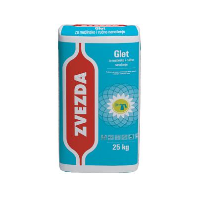 Zvezda - Шпакловка за ръчно и машинно нанасяне