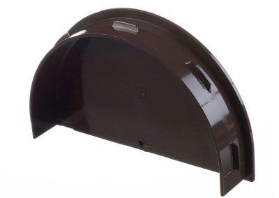 Тапа за снадка с дренаж/воронка STANDARD - цвят шоколад