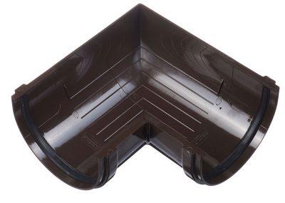 Ъгъл 90º за улук STANDARD - цвят шоколад