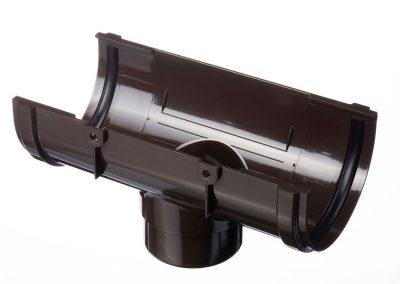 Снадка с дренаж/Воронка за улук STANDARD - цвят шоколад