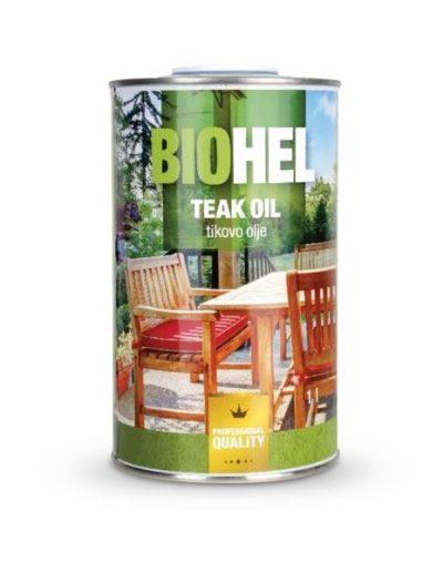 BIOHEL - био масло, тиково