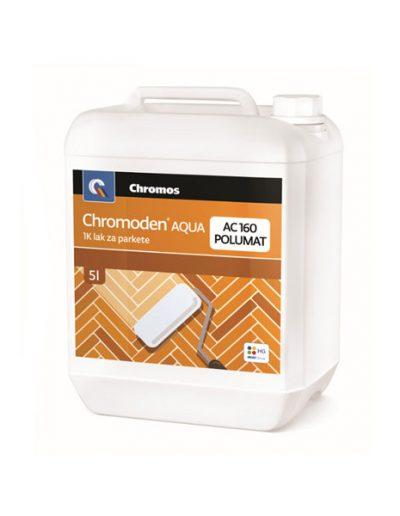 Chromoden Aqua 1К лак за паркет AC 160 с гланц полумат