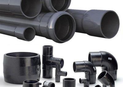 PVC тръби и елементи