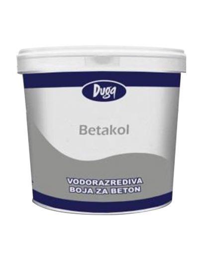 Betakol - водоустойчива боя за бетон