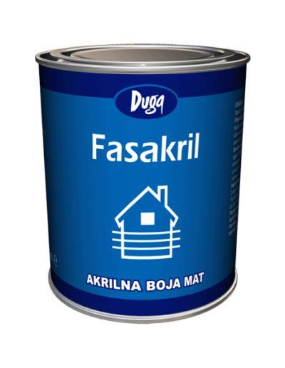 Fasakril акрилна матова фасадна боя