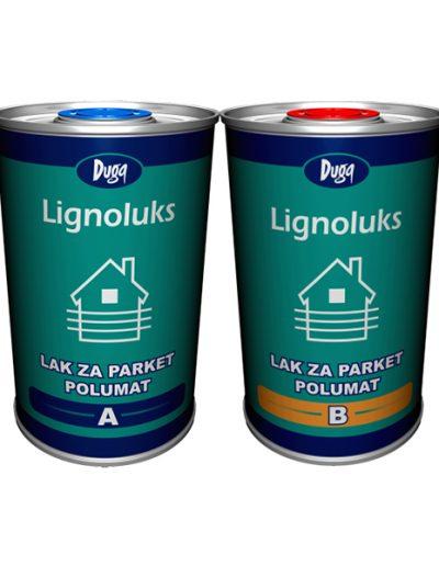 Лак за паркет Lignoluks - полумат