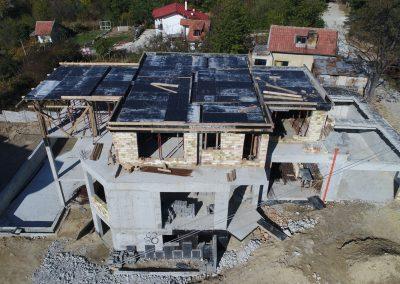 "Частен обект в град Варна на етап ""груб строеж""."