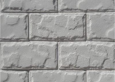 Дялан камък - бял