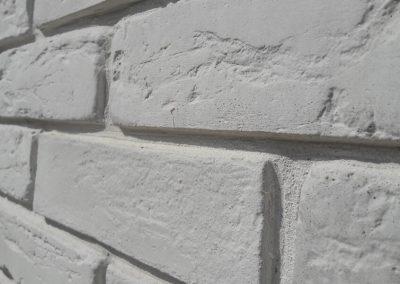 Декоративна тухла - бяла