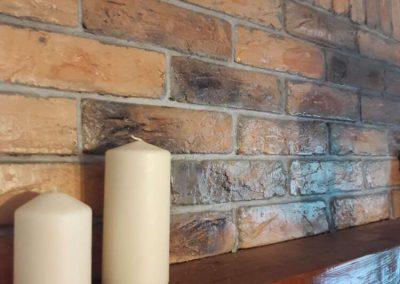 Декоративна тухла - охра опушена